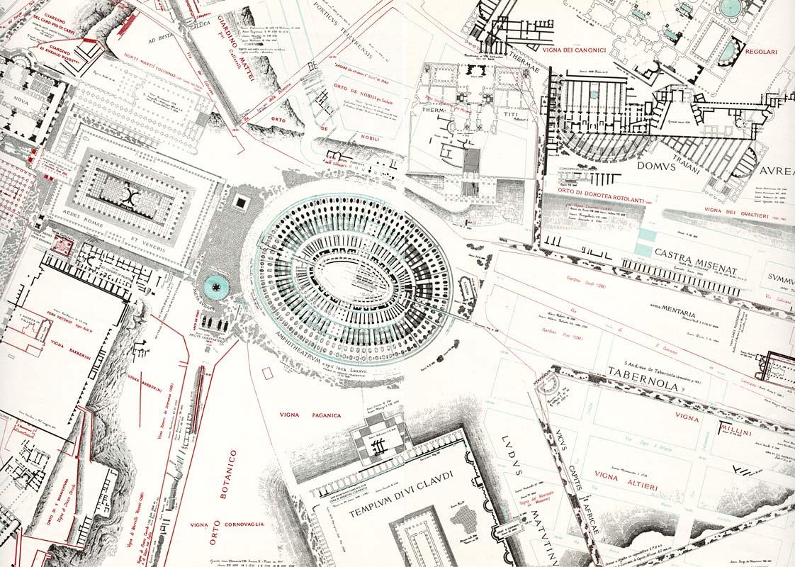 Plan Ville Rome Antique
